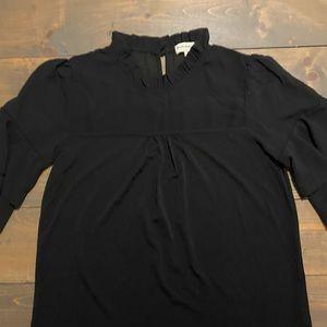 Faith and Joy ruffle blouse